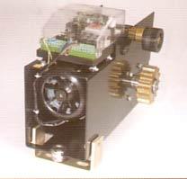 motoréducteur industriel autoventilé, codeur pour le controle électronique du réglage de la force anti-écrasement