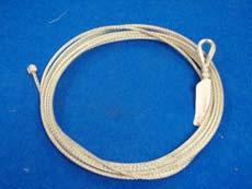 Cable avec anneau et cosse à votre mesure