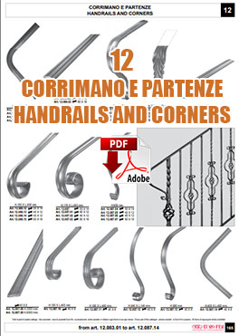 CORRIMANO E PARTENZE HANDRAILS AND CORNERS