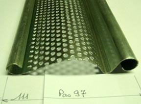 Lame acier isolée renforcée pour rideaux de grandes dimensions