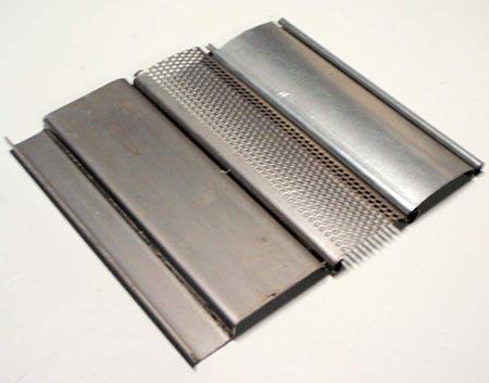 Lames mono-parois inox 55 mm