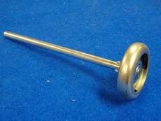 Roulette D72 en acier zingué axe D11 longueur 193 RTL579