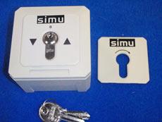 Sélecteur à clef SIMU