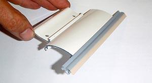 verrou alu 2 éléments Verrou DVA aluminium extrudé 2 éléments