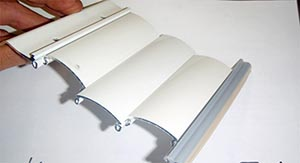 Verrou alu extrudé Verrou DVA aluminium extrudé 4 éléments