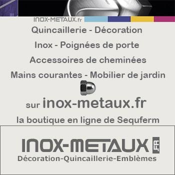 inox-metaux.fr la boutique en ligne de Sequferm